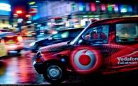 Taxi dans une grande ville