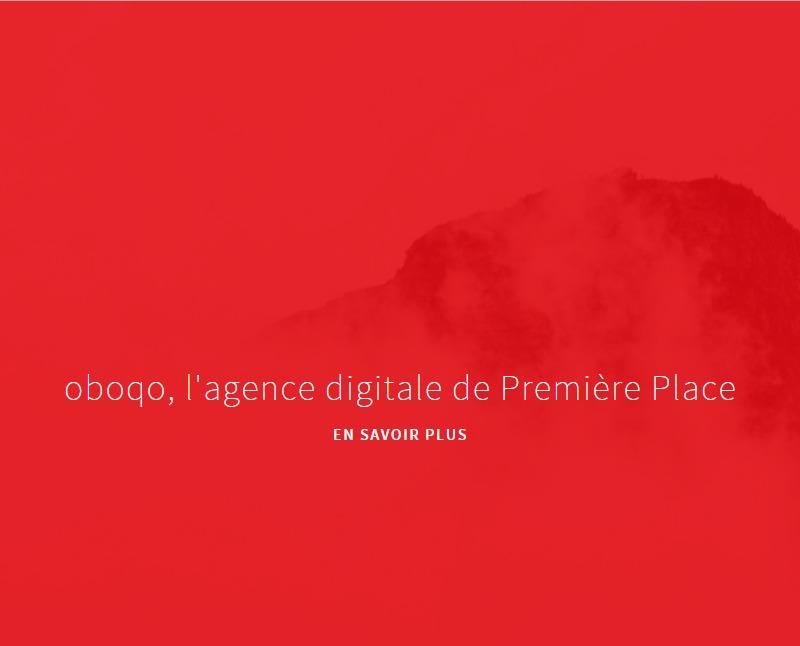 Oboqo, l'agence digitale de Première Place.